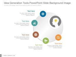 Idea Generation Tools Powerpoint Slide Background Image