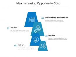 Idea Increasing Opportunity Cost Ppt Powerpoint Presentation Layouts Example Topics Cpb