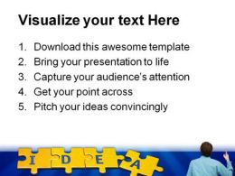 Idea Man Business PowerPoint Background And Template 1210  Presentation Themes and Graphics Slide03