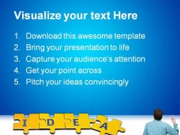Idea Man Business PowerPoint Background And Template 1210  Presentation Themes and Graphics Slide02