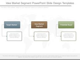 Idea Market Segment Powerpoint Slide Design Templates