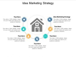Idea Marketing Strategy Ppt Powerpoint Presentation Portfolio Template Cpb