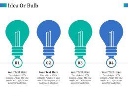 Idea Or Bulb Ppt Outline Designs Download