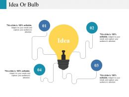 Idea Or Bulb Ppt Outline Outfit