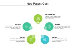 Idea Patent Cost Ppt Powerpoint Presentation Infographics Introduction Cpb