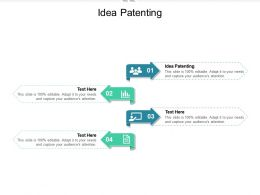 Idea Patenting Ppt Powerpoint Presentation Professional Display Cpb