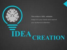 Idea Ppt Topics