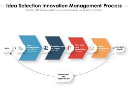 Idea Selection Innovation Management Process
