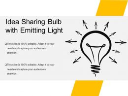 Idea Sharing Bulb With Emitting Light