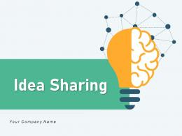 Idea Sharing Business Successfully Implementing Solutions Innovative Organizational