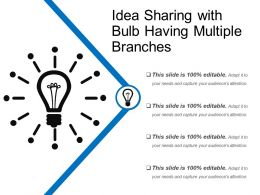 Idea Sharing With Bulb Having Multiple Branches