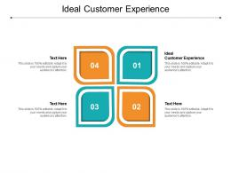 Ideal Customer Experience Ppt Powerpoint Presentation Model Templates Cpb