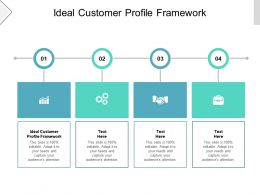 Ideal Customer Profile Framework Ppt Powerpoint Presentation Gallery Picture Cpb