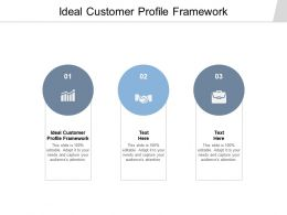 Ideal Customer Profile Framework Ppt Powerpoint Presentation Summary Gridlines Cpb