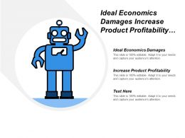 Ideal Economics Damages Increase Product Profitability Regulatory Compliance