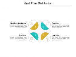 Ideal Free Distribution Ppt Powerpoint Presentation Inspiration Graphics Cpb