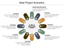 Ideal Project Scenarios Ppt Powerpoint Presentation Infographic Template Samples Cpb