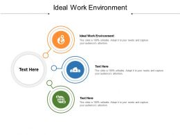 Ideal Work Environment Ppt Powerpoint Presentation Show Rules Cpb
