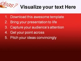 Ideas01 Business PowerPoint Template 0610  Presentation Themes and Graphics Slide02