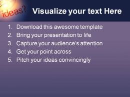 Ideas Business PowerPoint Template 0610  Presentation Themes and Graphics Slide02