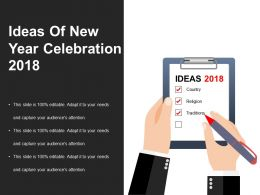Ideas Of New Year Celebration Powerpoint Templates