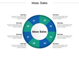 Ideas Sales Ppt Powerpoint Presentation Summary Rules Cpb