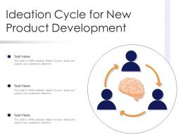 Ideation Cycle For New Product Development