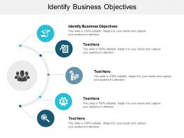 Identify Business Objectives Ppt Powerpoint Presentation Portfolio Information Cpb