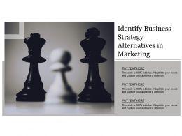 identify_business_strategy_alternatives_in_marketing_Slide01