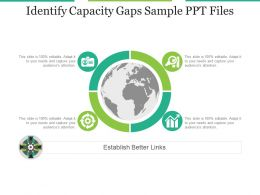 Identify Capacity Gaps Sample Ppt Files