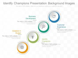 Identify Champions Presentation Background Images