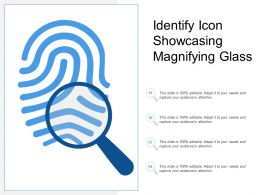 Identify Icon Showcasing Magnifying Glass