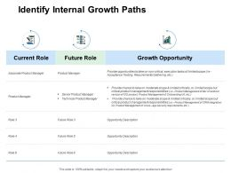 Identify Internal Growth Paths Growth Opportunity Powerpoint Presentation Slides