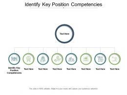 Identify Key Position Competencies Ppt Powerpoint Presentation Infographics Skills Cpb