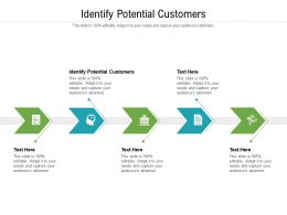 Identify Potential Customers Ppt Powerpoint Presentation Layouts Example Topics Cpb