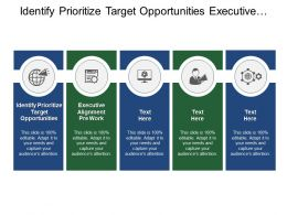Identify Prioritize Target Opportunities Executive Alignment Pre Work