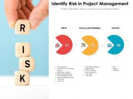 Identify Risk In Project Management