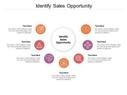 Identify Sales Opportunity Ppt Powerpoint Presentation Infographics Background Designs Cpb