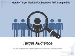Identify Target Market For Business Ppt Sample File