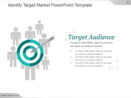 Identify Target Market Powerpoint Template