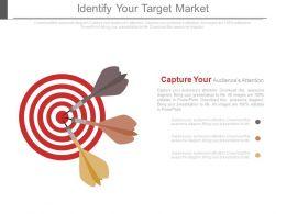Identify Your Target Market Ppt Slides