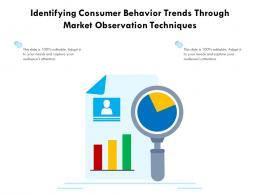 Identifying Consumer Behavior Trends Through Market Observation Techniques