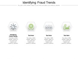 Identifying Fraud Trends Ppt Powerpoint Presentation Layouts Mockup Cpb