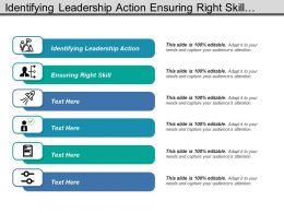 Identifying Leadership Action Ensuring Right Skill Economies Scale