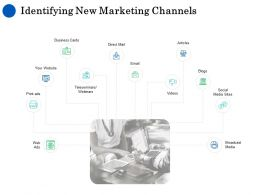 Identifying New Marketing Channels Ppt Powerpoint Presentation Outline