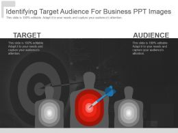 Identifying Target Audience For Business Ppt Images