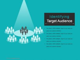 Identifying Target Audience Powerpoint Templates Download