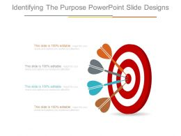 Identifying The Purpose Powerpoint Slide Designs