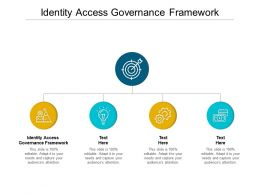 Identity Access Governance Framework Ppt Powerpoint Presentation Inspiration Graphics Download Cpb