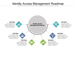Identity Access Management Roadmap Ppt Powerpoint Presentation Pictures Show Cpb